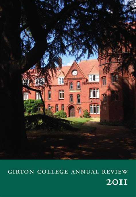 2011 Annual Review by Girton College   issuu