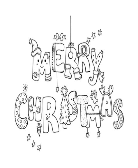 Christmas Colouring Pages Free Download Christmas Merry Coloring Pages Pdf