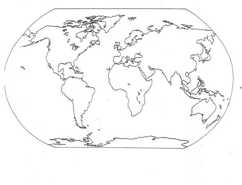 Coloring Page World Map by Free Printable World Map Coloring Pages For Best