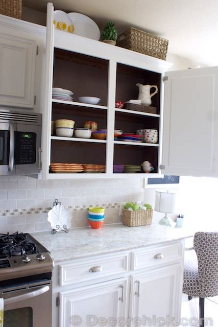 painting inside of kitchen cabinets the moment you ve been waiting for our white kitchen makeover reveal decorchick