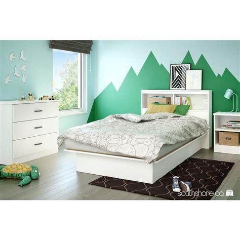 kids twin headboards south shore libra pure white twin kids headboard 3050098