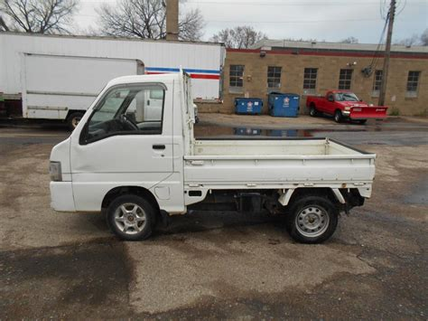 subaru sambar mini truck subaru sambar utility mini truck runs october