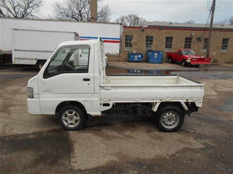 subaru sambar mini truck subaru sambar utility mini truck runs october