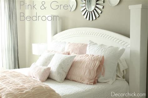 grey pink white bedroom our new white pink and grey bedroom decorchick