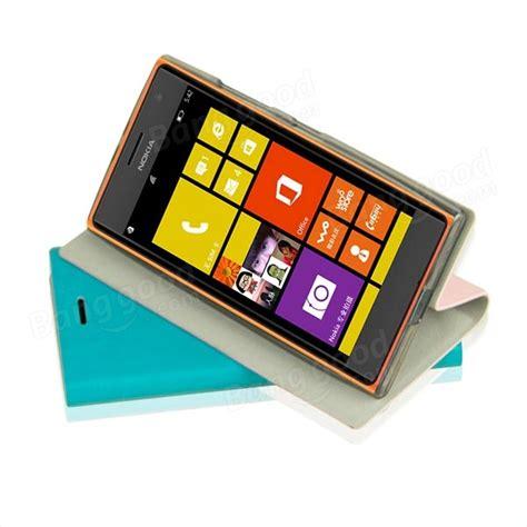 Mofi Leather Lumia 435532 Softcase mofi flip leather skin cover for nokia lumia 730 sale banggood sold out