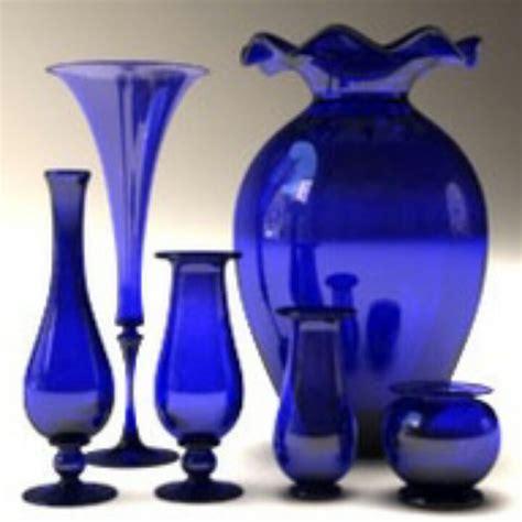1000 ideas about blue glass vase on cobalt