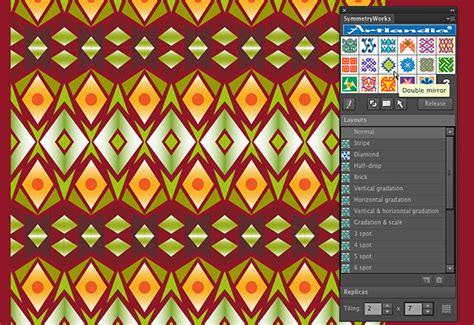illustrator pattern lock creating ikat patterns in illustrator with artlandia