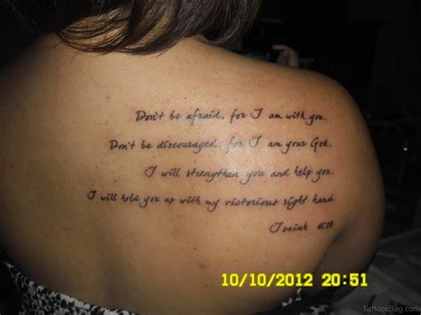 isaiah 41 10 tattoo 52 religious bible verses tattoos designs on back