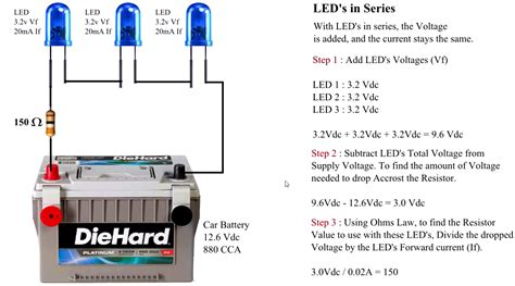 component how to wire leds in series the eyewriter