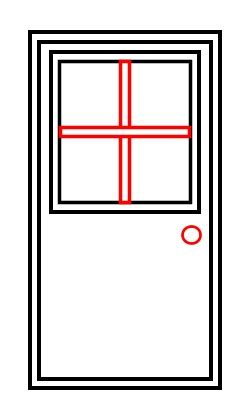 how to a to a door drawing a door