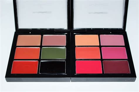 Get A Fashionable Lip Palette For Fall by Mac Trend Forecast Fall 2016 Palettes Swatches