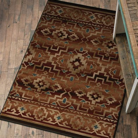 Rustic Kitchen Rugs by Southwest Rugs 8 X 11 Rustic Home Rug Lone Western Decor