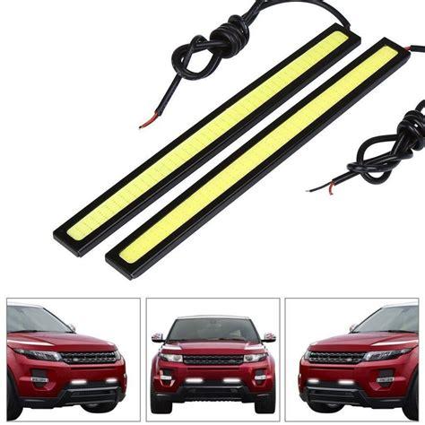 auto led lights car styling 1pcs 17cm 20w cob led lights drl daytime