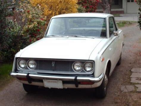 Toyota Corona For Sale S Since New 1968 Toyota Corona Bring A Trailer