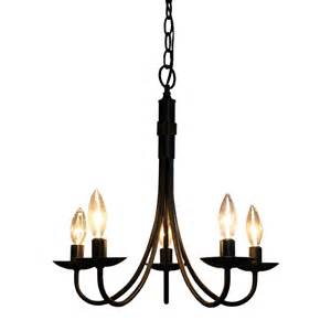 lowes mini chandelier artcraft lighting ac1785eb 5 light mini chandelier lowe