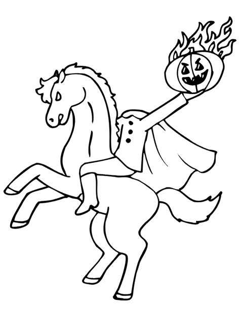 halloween coloring pages headless horseman who wants some halloween icons page 4 ign boards