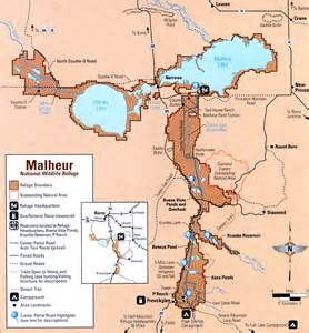 malheur national wildlife refuge map lawen oregon mappery