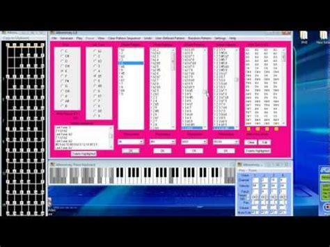 pattern music youtube alberto s music pattern generator youtube