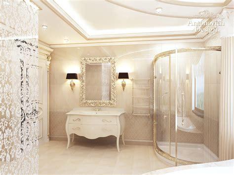 bathroom with shower and toilet design feature royale royal interior design by antonovich design antonovich