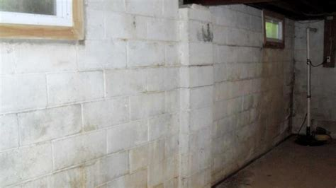 repairing basement walls quality 1st basement systems foundation repair photo album wall anchor system saves