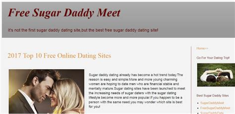 Sugar daddies dating site