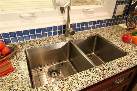 recycled kitchen countertops photos from glass recycled appearance on diy s i hate my