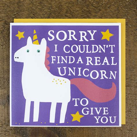 free printable birthday card unicorn unicorn card by zoe brennan notonthehighstreet com