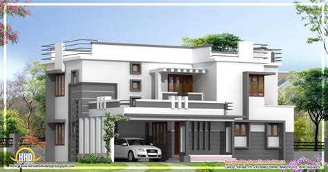2400 sq ft house plan modern house plans kerala style inspirational contemporary 2 story kerala home design