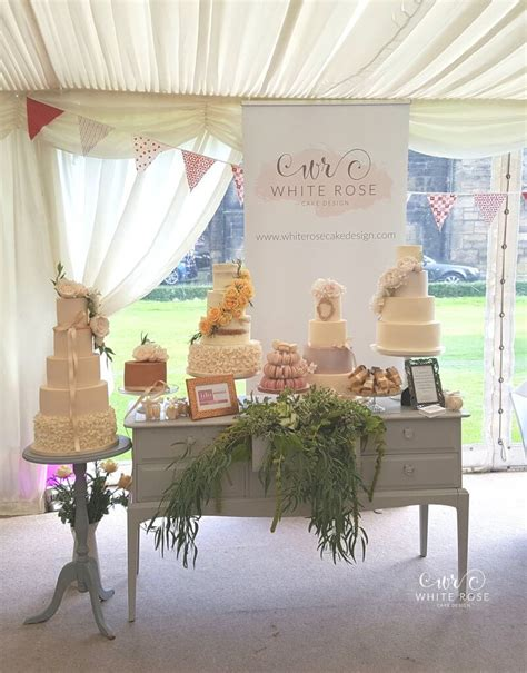 event design yorkshire wedding cakes at woodsome hall golf club huddersfield by