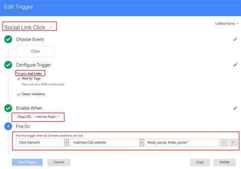 this examle uses the divposts tag to enable a custom loop how to track div clicks in google tag manager