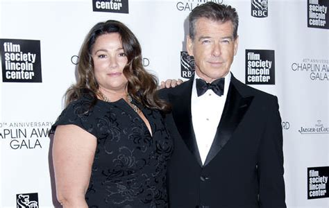wht actors with black wives or girl friends is pierce brosnan s wife fat and ugly plus sizeplus size