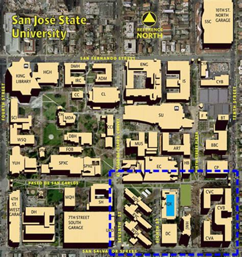 san jose state directions san jose state cus map pictures to pin on