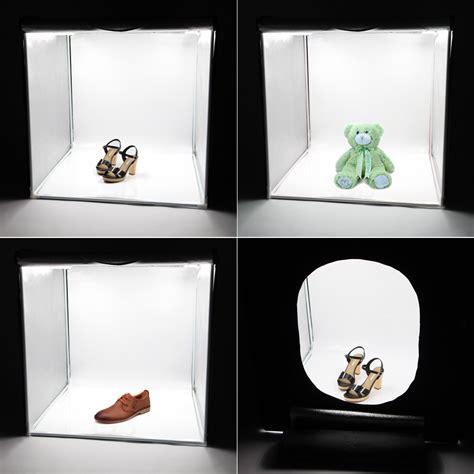 led light box photography deep portable shooting led box photography light cube tent