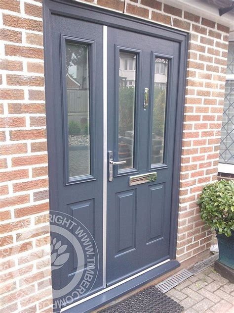 Solidor Front Doors Tenby Solidor Composite Door By Timber Composite Doors In Grey Doors