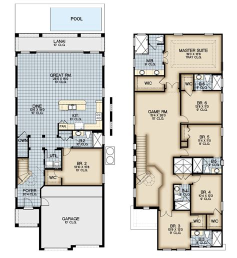 resort floor plans patriots landing at reunion new vacation homes at reunion