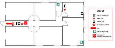 Evacuation Plan Template For Office by And Emergency Plans Solution Conceptdraw