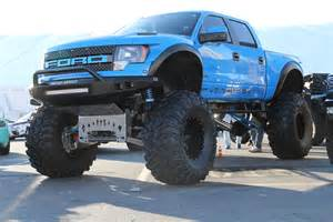 Truck Rims Photo Gallery Lifted Ford Raptor At Sema 2014 Gallery Ford F 150