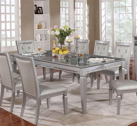 silver dining table silver dining table dining tables ideas