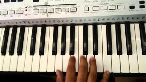 Tutorial Na Keyboard | nuvvante na navvu telugu song on keyboard tutorial youtube
