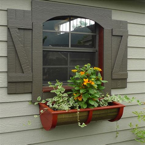 outdoor planter boxes window for beautiful home