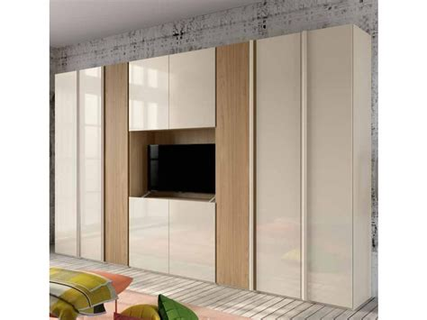 armadio con spazio tv armadio maxi con spazio tv