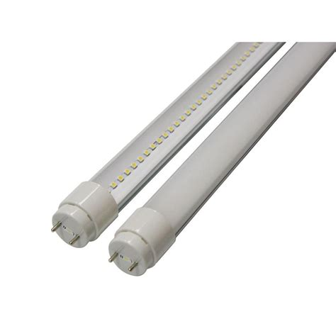 2 feet led tube light 3nled 2 ft t8 9 watt soft white g13 frosted lens linear