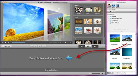 software pembuat album kolase gratis wondershare fantashow para mac no superdownloads