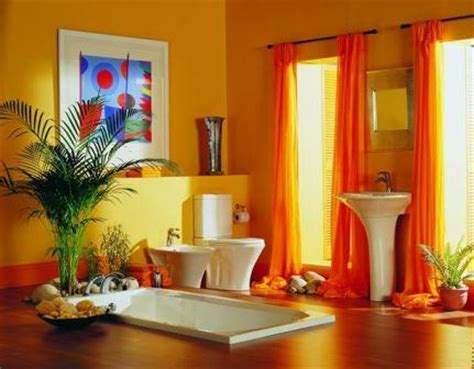 yellow and orange bathroom inspirational bathroom colors