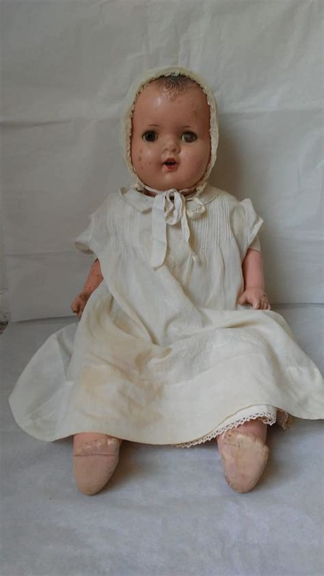 composition baby doll 1920s 1920 s 1930 s 23 unmarked composition type baby