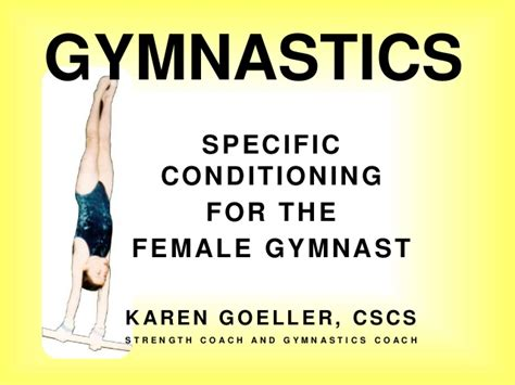 gymnastics conditioning by goeller cscs