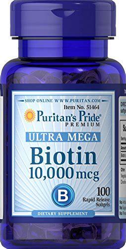 Biotin 10000mcg Puritans Pride puritan s pride biotin 10 000 mcg 100 softgels health and in the uae see prices