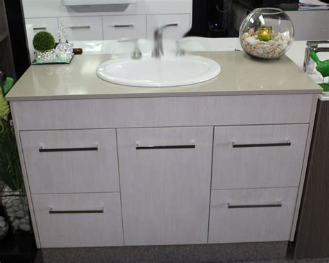 Caesarstone Vanity by Custom Vanity 1200mm With Caesarstone Top Laminate
