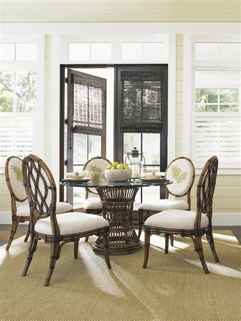 tommy bahama dining room furniture tommy bahama home bali hai tropical 5 piece single