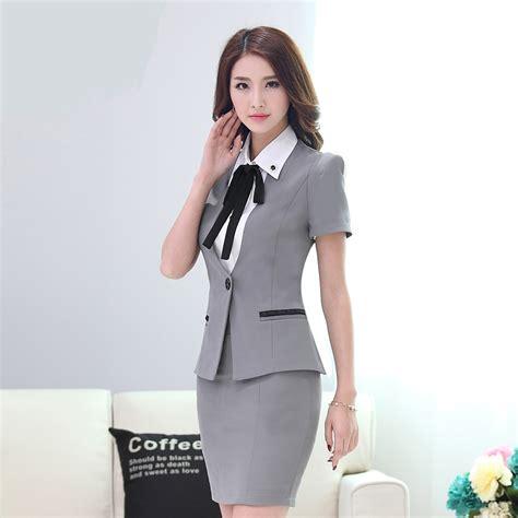 uniforme blusas para damas compra estilo uniforme de la oficina online al por mayor
